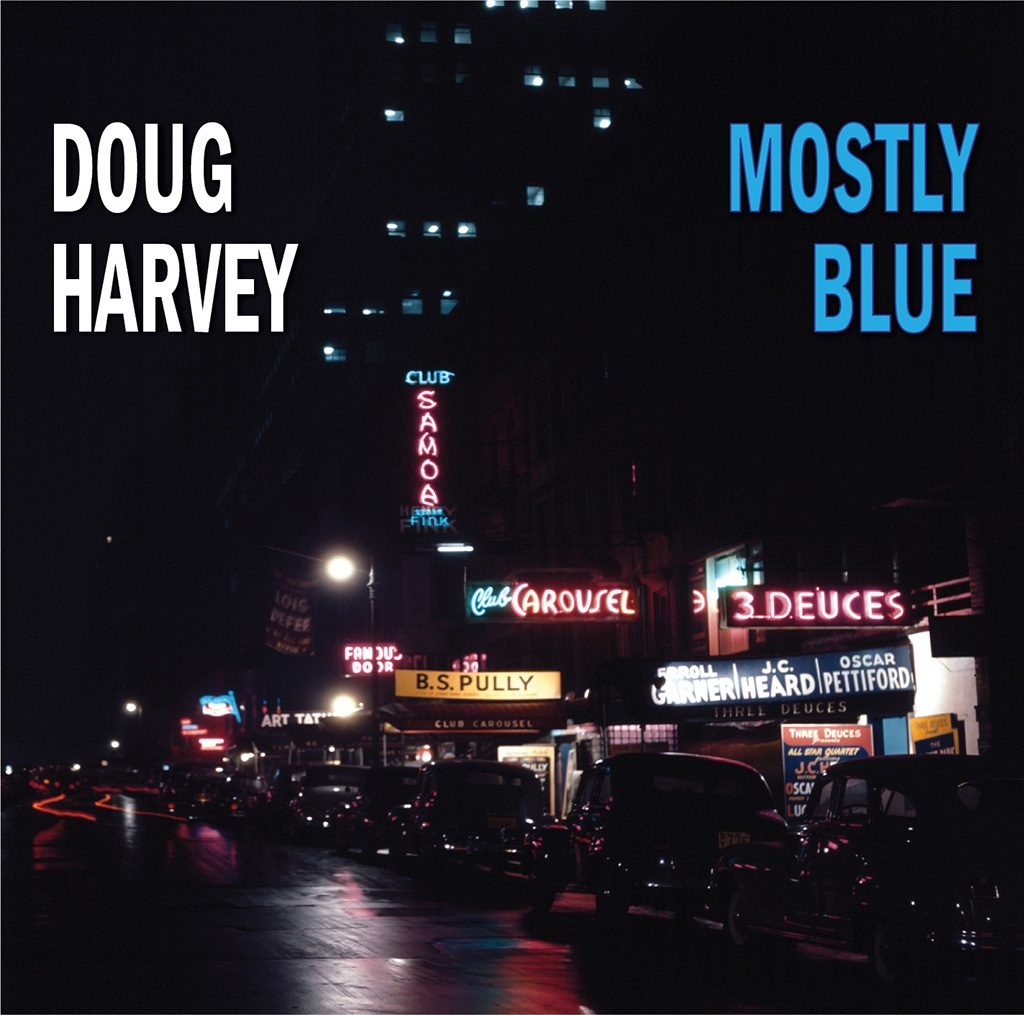 Mostly Blue CD cover
